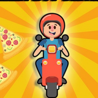 Pizza boy driving